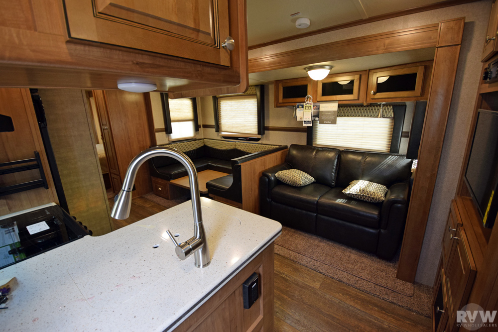 Click here to see the New 2018 Rockwood Windjammer 3006WK Travel Trailer by Forest River at RVWholesalers.com