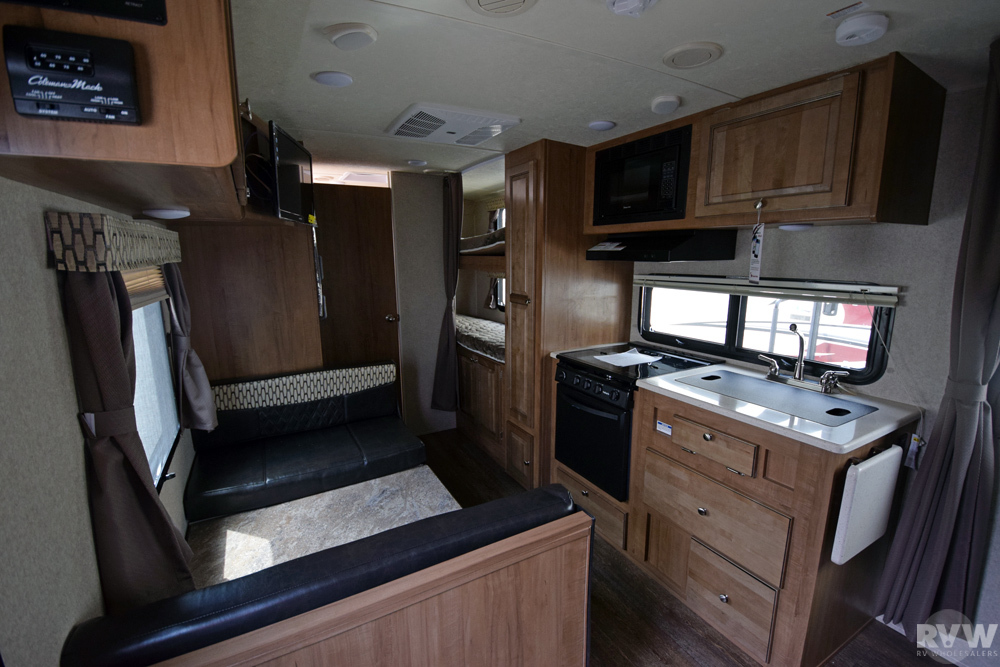 Click here to see the New 2018 Rockwood Mini Lite 2306 Travel Trailer by Forest River at RVWholesalers.com