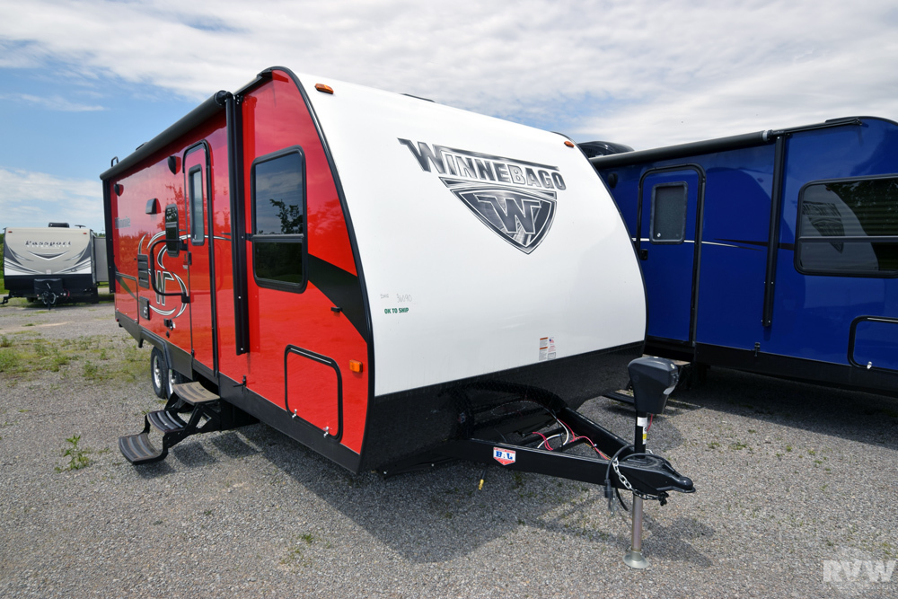 Click here to see the New 2018 Minnie 2200SS Travel Trailer by Winnebago at RVWholesalers.com