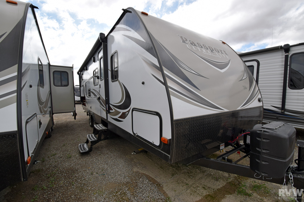 Click here to see the New 2018 Passport GT 2670BH Travel Trailer by Keystone RV at RVWholesalers.com