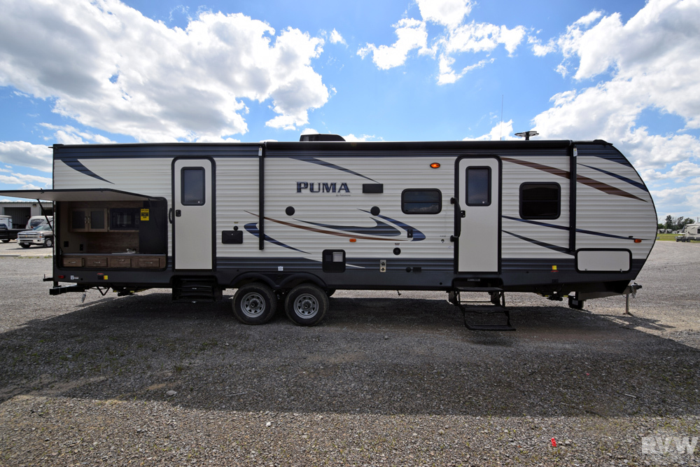 Click here to see the New 2018 Puma 31BHSS Travel Trailer by Palomino at RVWholesalers.com