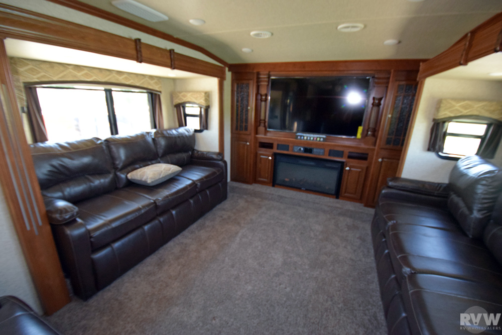 Click here to see the New 2018 Bighorn 3750FL Fifth Wheel by Heartland RV at RVWholesalers.com