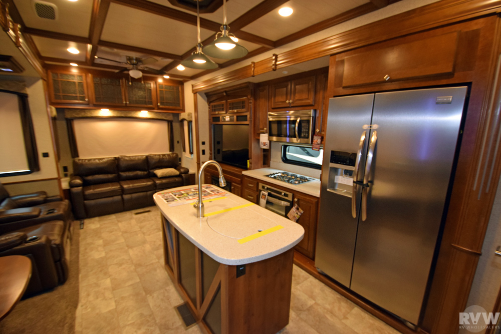 Click here to see the New 2018 Bighorn 3160EL Fifth Wheel by Heartland RV at RVWholesalers.com