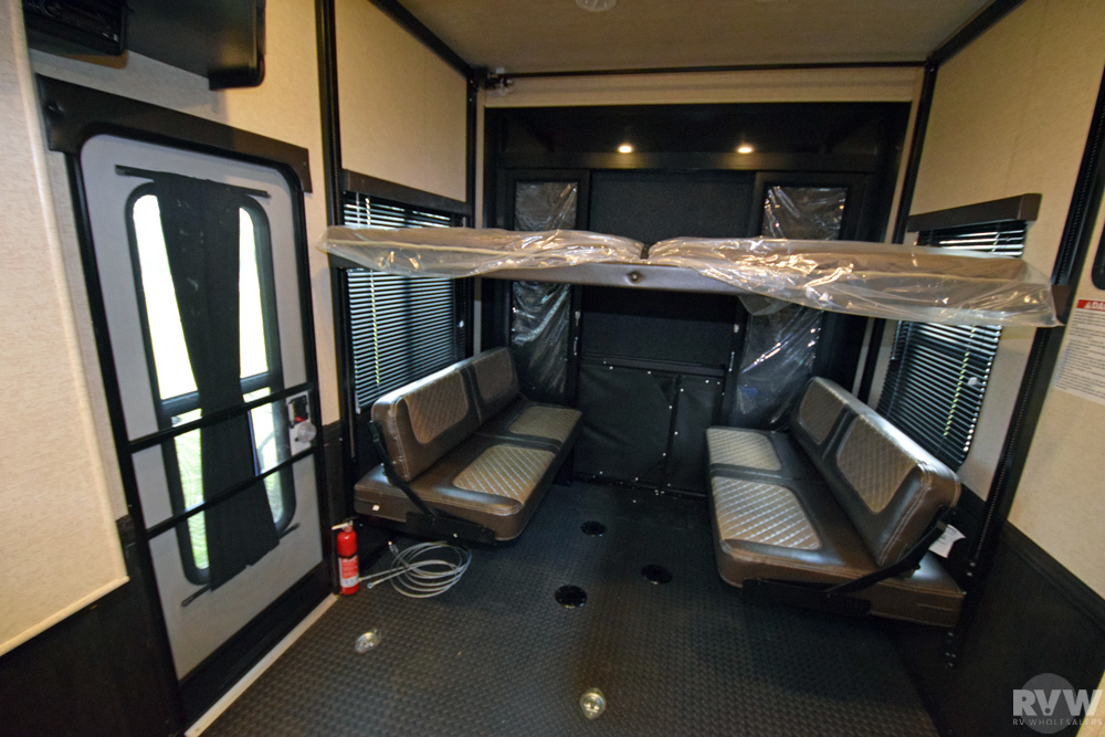 Click here to see the New 2017 Road Warrior 427 Toy Hauler Fifth Wheel by Heartland RV at RVWholesalers.com