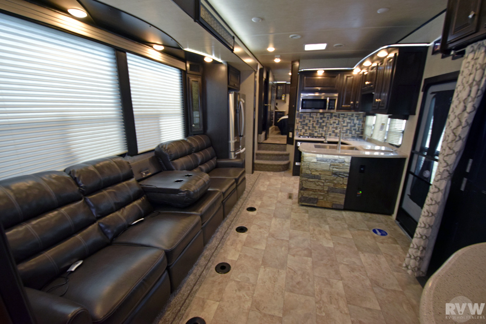 Click Here To See The New 2017 Road Warrior 427 Toy Hauler Fifth Wheel By Heartland