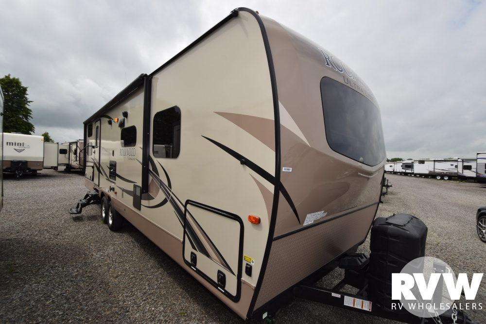 Click here to see the New 2018 Rockwood Ultra Lite 2706WS Travel Trailer by Forest River at RVWholesalers.com