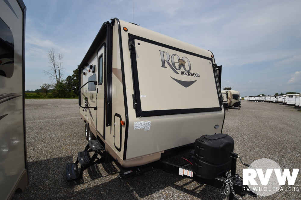 Click here to see the New 2018 Rockwood Roo 21SS Hybrid Camper by Forest River at RVNation.us