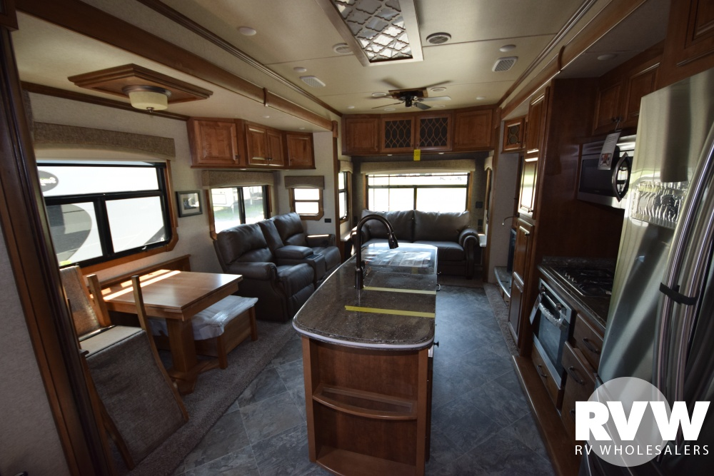 Click here to see the New 2018 Landmark 365 Oshkosh Fifth Wheel by Heartland RV at RVWholesalers.com