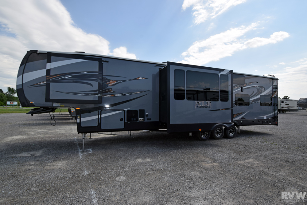 2018 Forest River Xlr Thunderbolt 413amp Toy Hauler Fifth