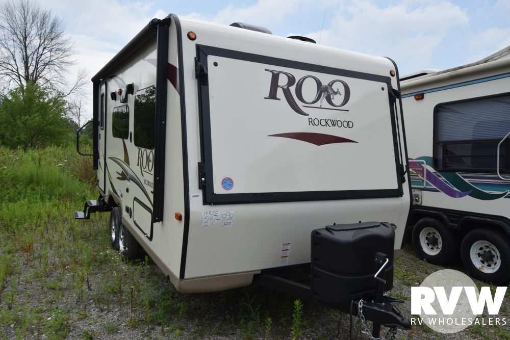 Click here to see the New 2018 Rockwood Roo 19 Hybrid Camper by Forest River at RVNation.us