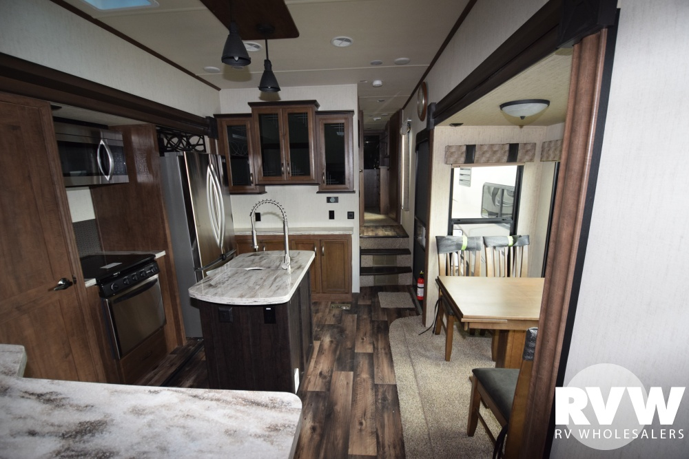 Click here to see the New 2018 Sandpiper 389RD Fifth Wheel by Forest River at RVWholesalers.com