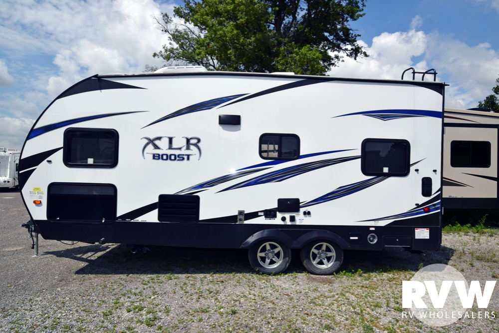 Click here to see the New 2017 XLR Boost 20CB Toy Hauler Travel Trailer by Forest River at RVWholesalers.com