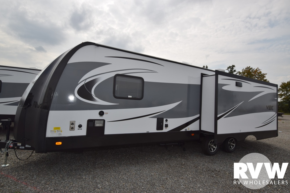 Click here to see the New 2018 Vibe 288RLS Travel Trailer by Forest River at RVWholesalers.com