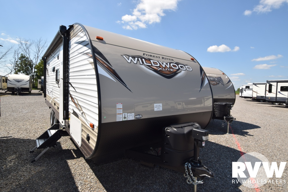 Click here to see the New 2018 Wildwood XLite 230BHXL Travel Trailer by Forest River at RVWholesalers.com
