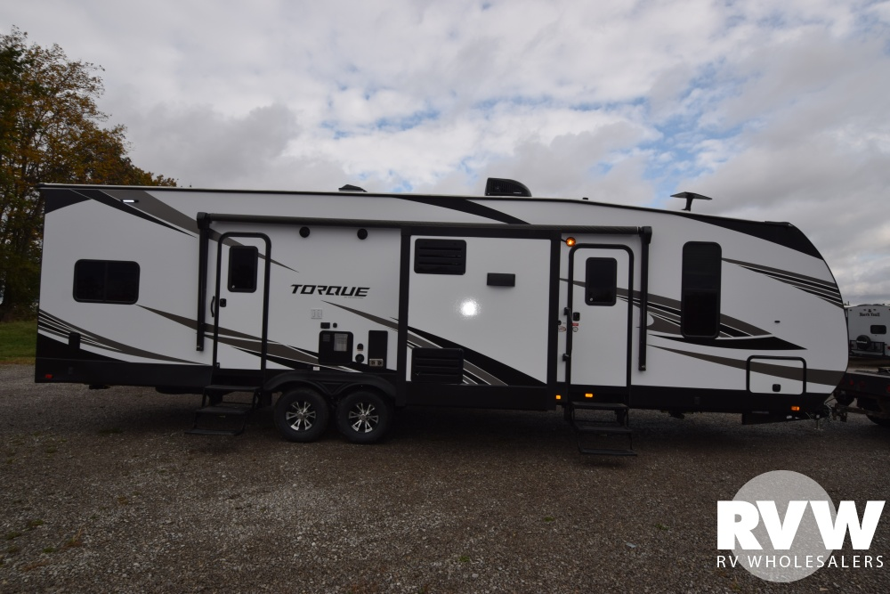 Click here to see the New 2018 Torque XLT T31 Toy Hauler Travel Trailer by Heartland RV at RVWholesalers.com