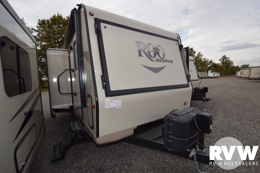 Click here to see the New 2018 Rockwood Roo 23IKSS Hybrid Camper by Forest River at RVNation.us
