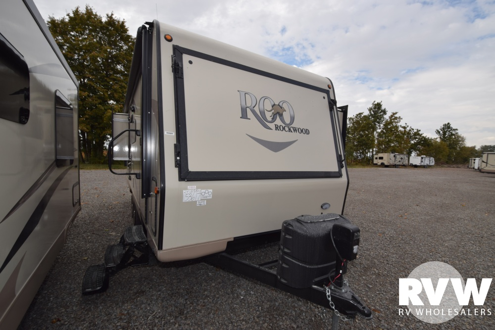 Click here to see the New 2018 Rockwood Roo 24WS Hybrid Camper by Forest River at RVWholesalers.com