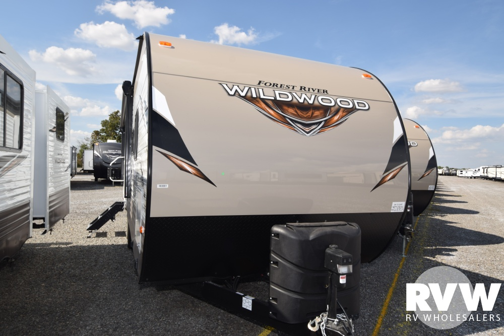 Click here to see the New 2018 Wildwood 27DBK Travel Trailer by Forest River at RVWholesalers.com
