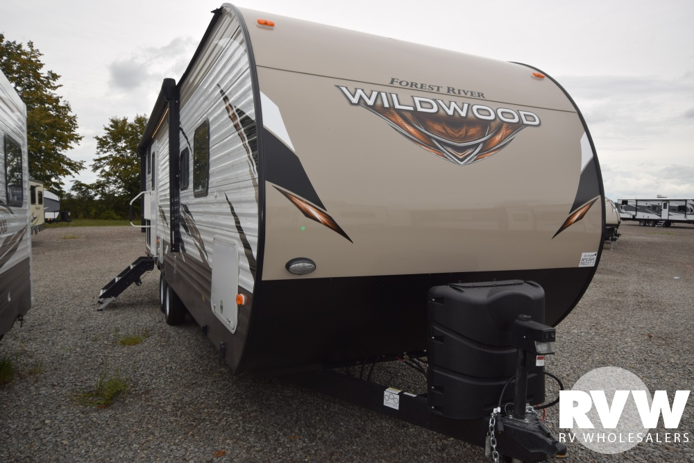 Click here to see the New 2018 Wildwood 27DBK Travel Trailer by Forest River at RVNation.us