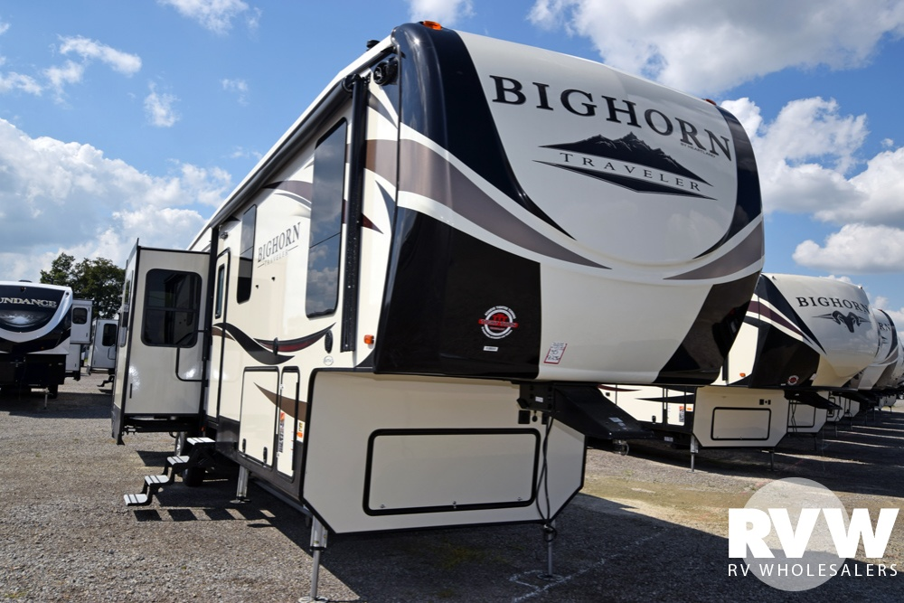 Click here to see the New 2018 Bighorn Traveler 39RD Fifth Wheel by Heartland RV at RVNation.us