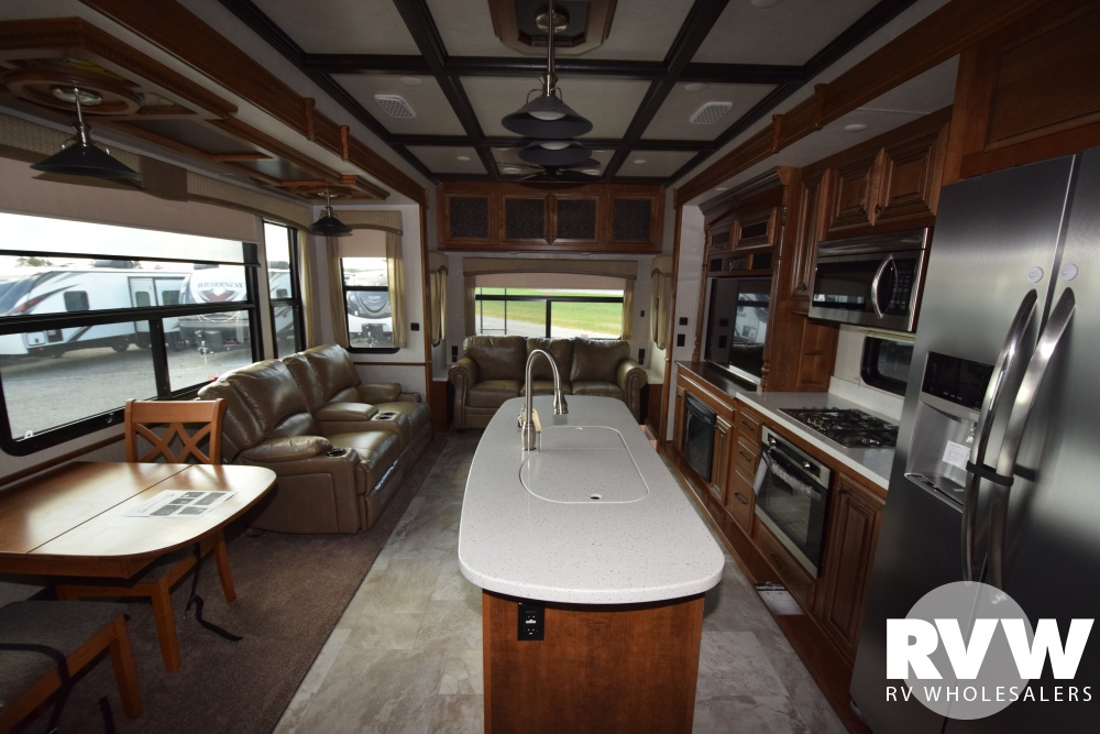 Click here to see the New 2018 Bighorn 3870FB Fifth Wheel by Heartland RV at RVNation.us