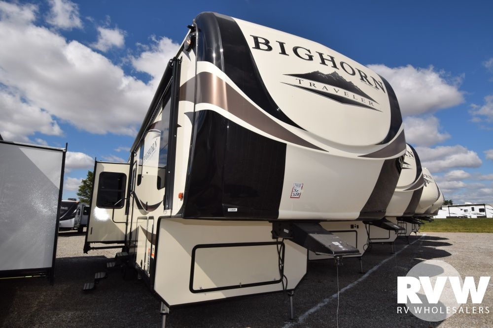 Click here to see the New 2018 Bighorn Traveler 32RS Fifth Wheel by Heartland RV at RVWholesalers.com