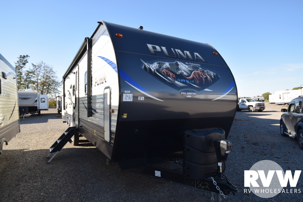 Click here to see the New 2018 Puma 32RBFQ Travel Trailer by Palomino at RVWholesalers.com