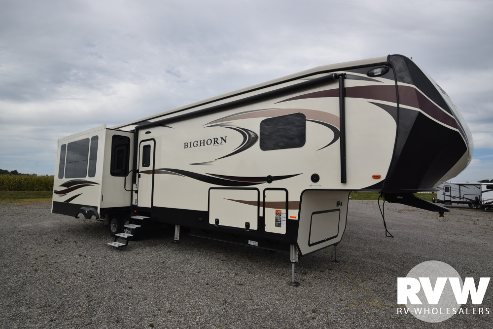 Click here to see the New 2018 Bighorn 3760EL Fifth Wheel by Heartland RV at RVWholesalers.com