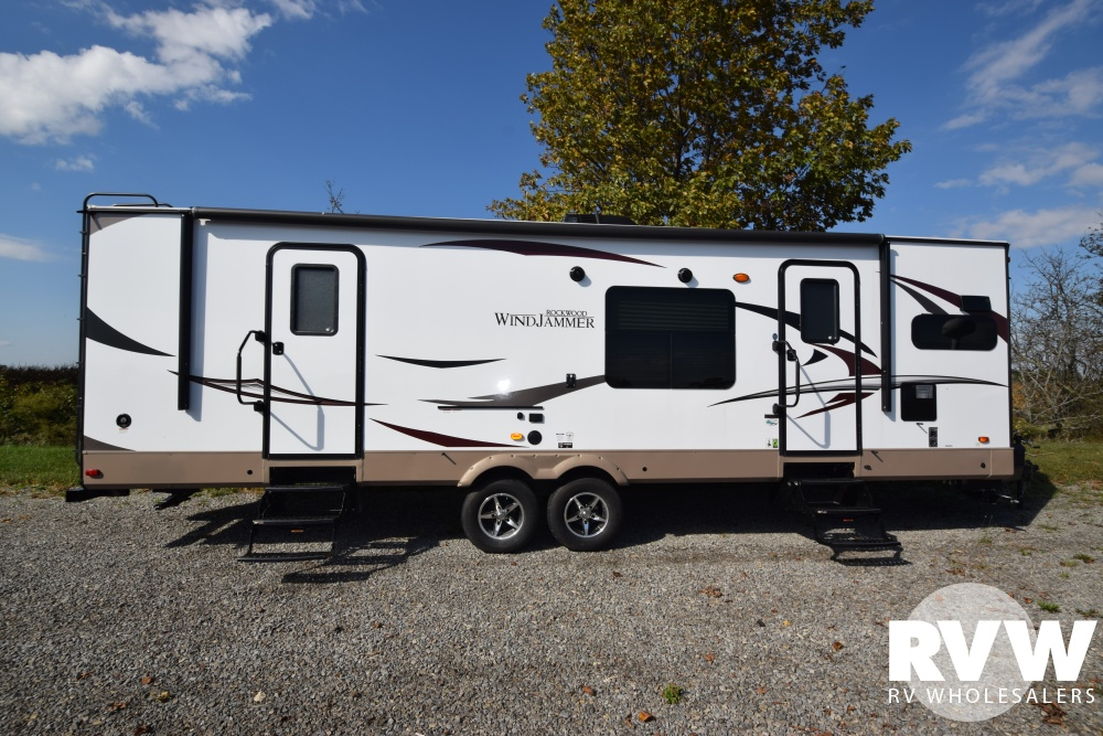 Click here to see the New 2018 Rockwood Windjammer 3008W Travel Trailer by Forest River at RVWholesalers.com
