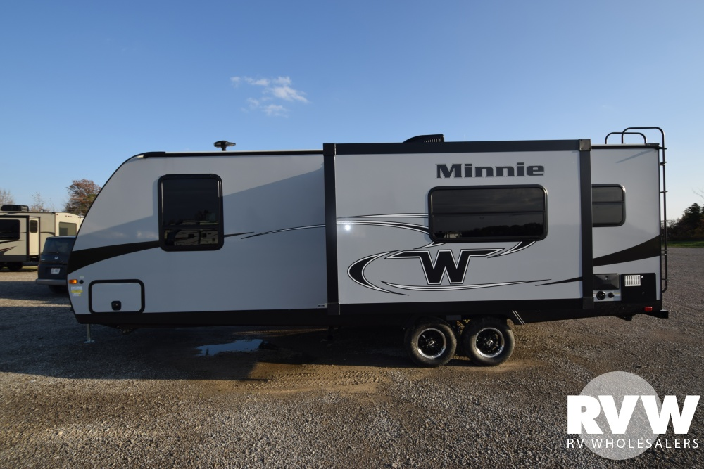 Click here to see the New 2018 Minnie 2401RG Travel Trailer by Winnebago at RVWholesalers.com