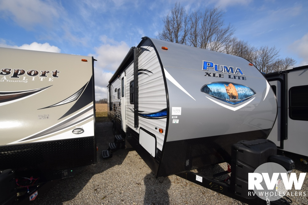Click here to see the New 2018 Puma XLE 30DBSC Travel Trailer by Palomino at RVNation.us
