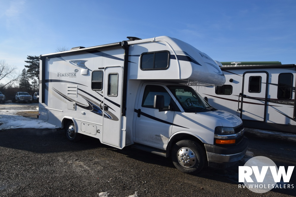 Click here to see the New 2018 Forester LE 2251S Class C Motorhome by Forest River at RVWholesalers.com