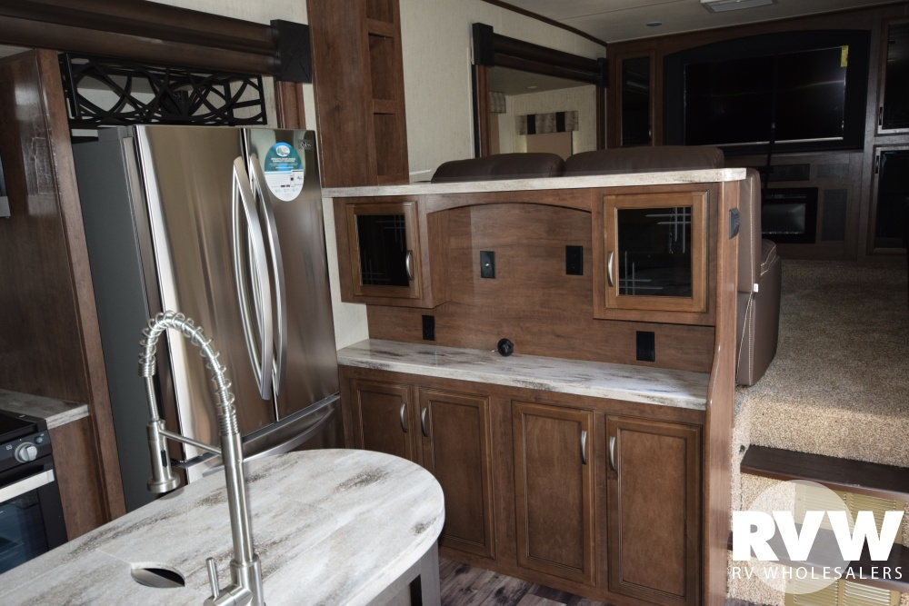 Click here to see the New 2018 Sandpiper 379FLOK Fifth Wheel by Forest River at RVWholesalers.com