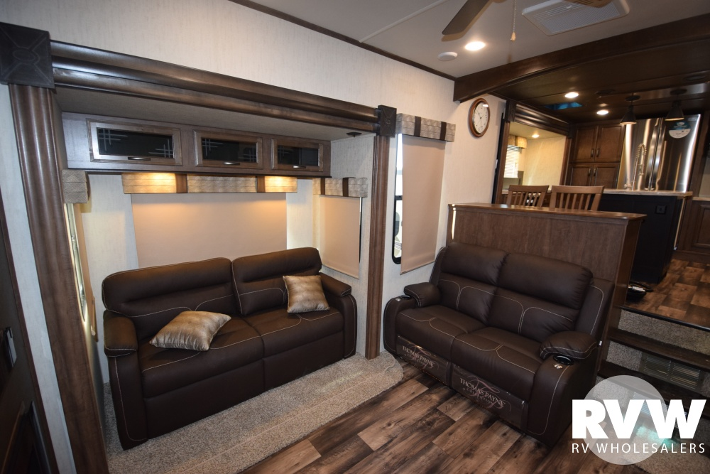 Click here to see the New 2018 Sandpiper 38FKOK Fifth Wheel by Forest River at RVWholesalers.com