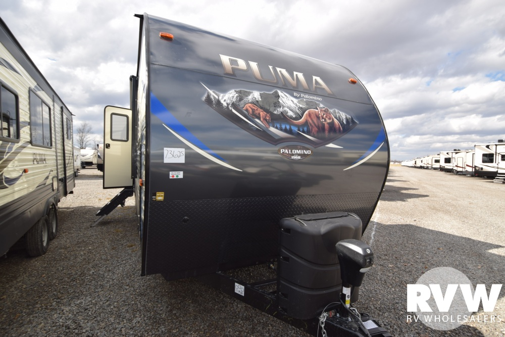 Click here to see the New 2018 Puma 32RKTS Travel Trailer by Palomino at RVWholesalers.com