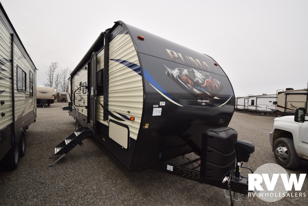 Click here to see the New 2018 Puma 29QBSS Travel Trailer by Palomino at RVWholesalers.com