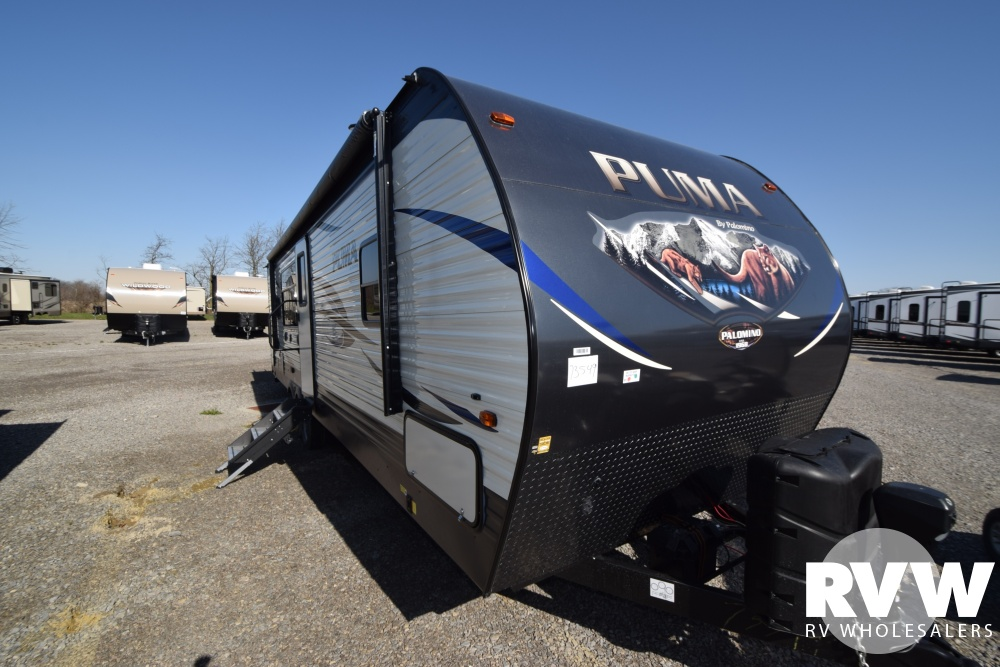 Click here to see the New 2018 Puma 28RKSS Travel Trailer by Palomino at RVWholesalers.com