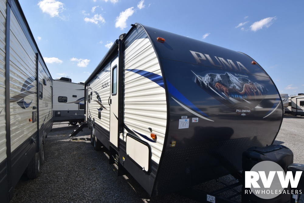 Click here to see the New 2018 Puma 27RLSS Travel Trailer by Palomino at RVNation.us
