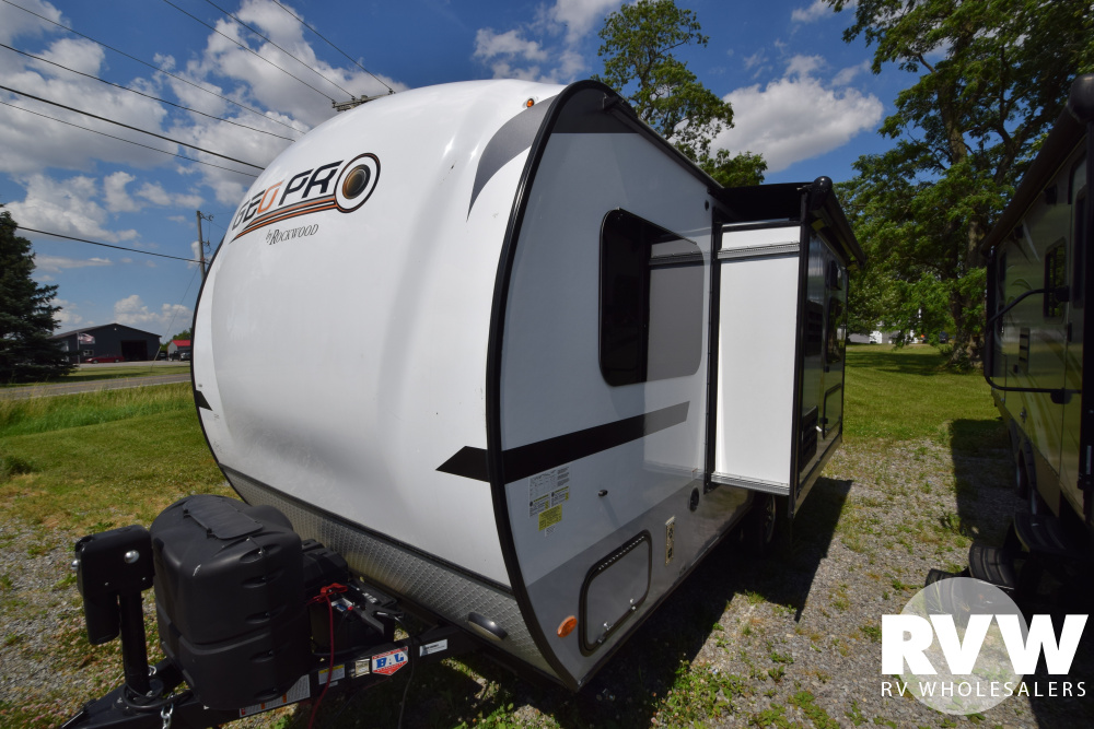 Click here to see the New 2018 Rockwood Geo Pro G16BH Travel Trailer by Forest River at RVNation.us
