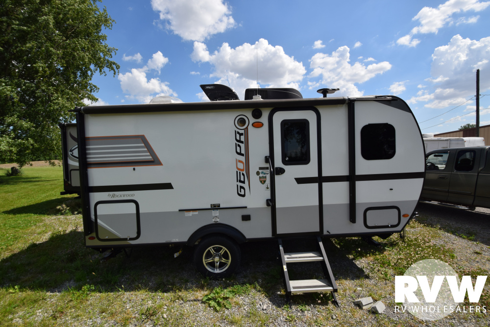 Click here to see the New 2018 Rockwood Geo Pro G16BH Travel Trailer by Forest River at RVWholesalers.com