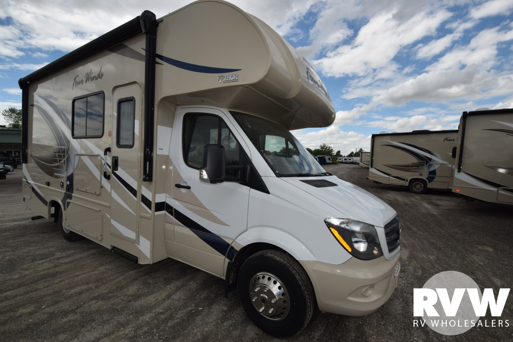 Click here to see the New 2018 Four Winds Sprinter Mercedes 24FS Class C Motorhome by Thor Motor Coach at RVWholesalers.com