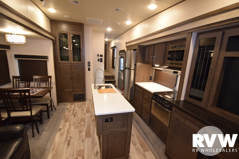 Click here to see the New 2018 Heritage Glen LTZ 370BL Fifth Wheel by Forest River at RVWholesalers.com