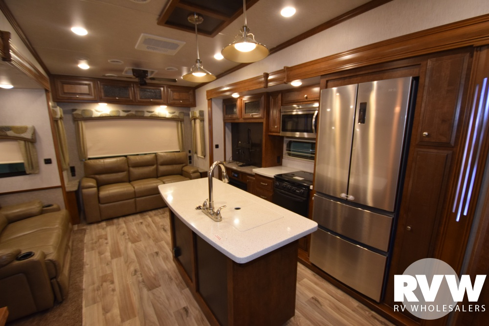 Click here to see the New 2018 Bighorn Traveler 39MB Fifth Wheel by Heartland RV at RVWholesalers.com