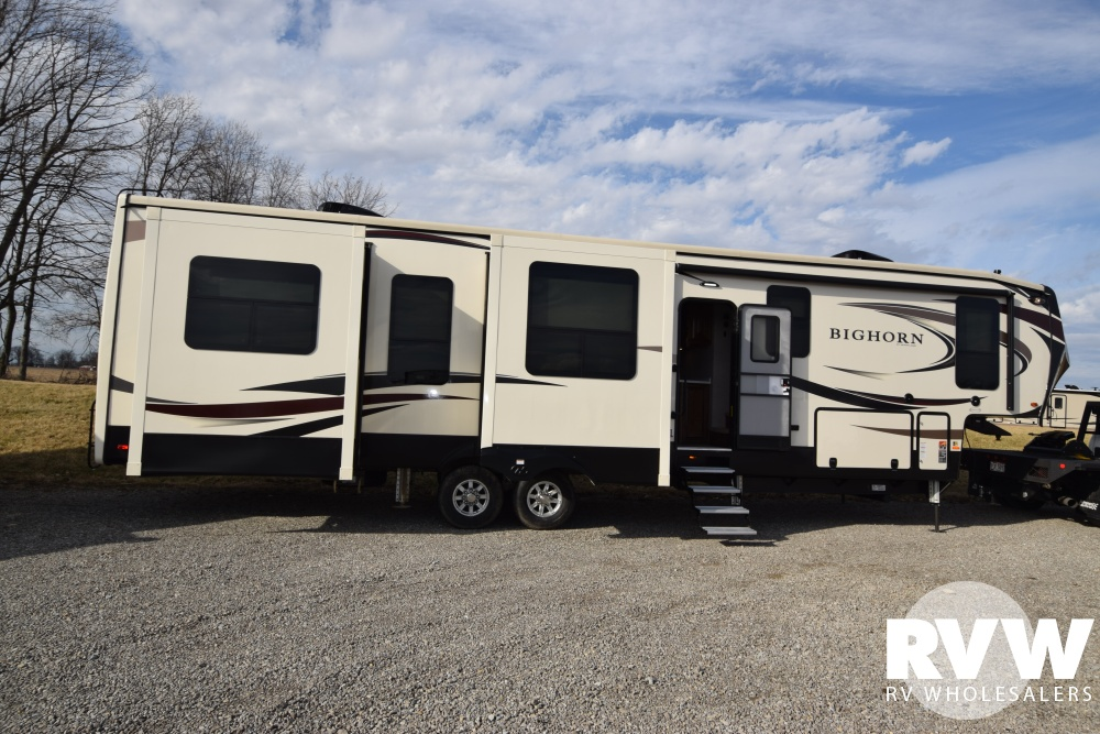 Click here to see the New 2018 Bighorn 3970RD Fifth Wheel by Heartland RV at RVWholesalers.com