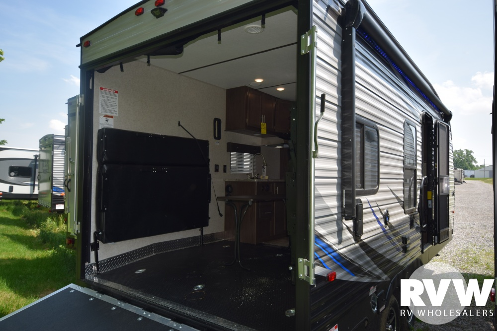 Click here to see the New 2018 XLR Boost 20CB Toy Hauler Travel Trailer by Forest River at RVWholesalers.com