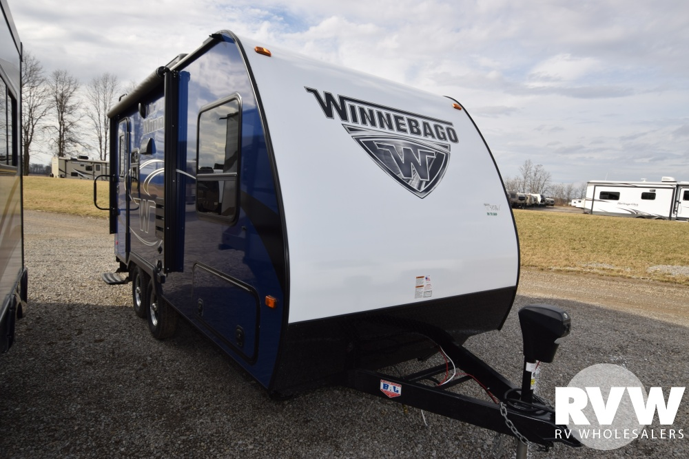 Click here to see the New 2018 Winnebago Micro Minnie 1808FBS Travel Trailer by Winnebago at RVNation.us