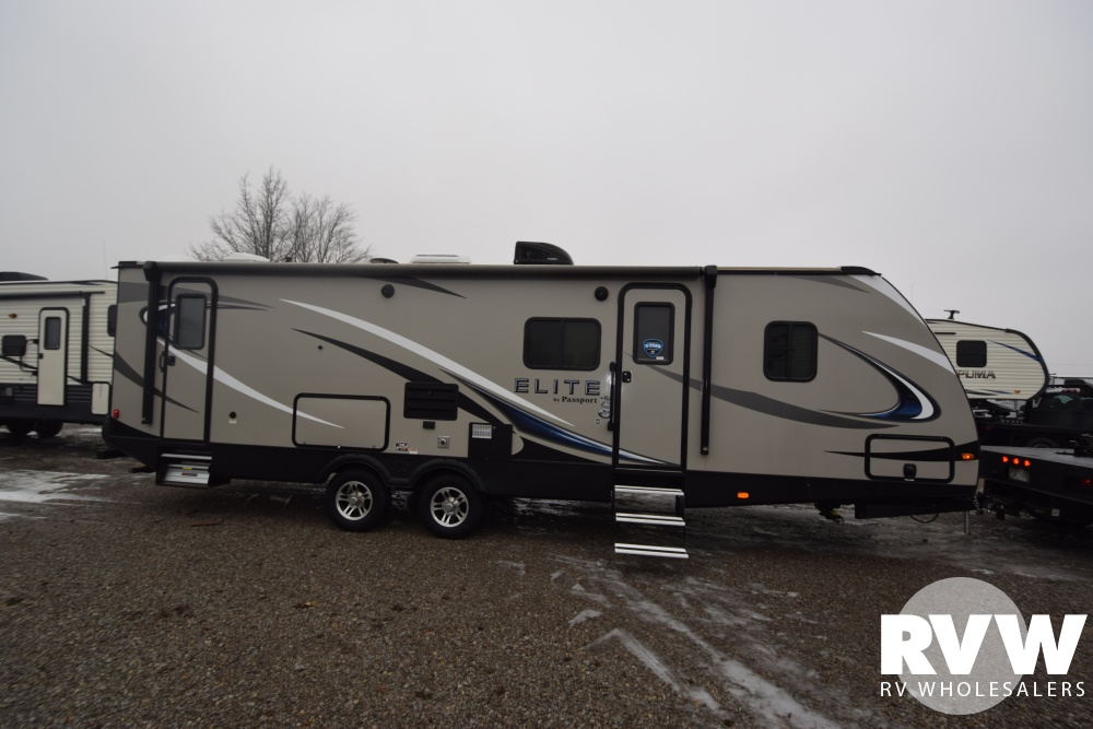Click here to see the New 2018 Passport Elite 29DB Travel Trailer by Keystone RV at RVNation.us