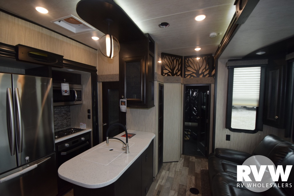 Click here to see the New 2018 Road Warrior 413 Toy Hauler Fifth Wheel by Heartland RV at RVWholesalers.com
