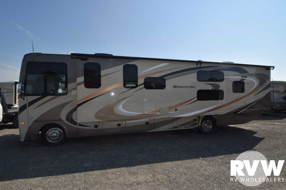 Click here to see the New 2018 Windsport 34J Class A Motorhome by Thor Motor Coach at RVWholesalers.com