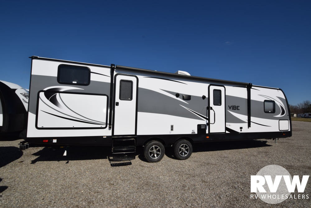 Click here to see the New 2018 Vibe 307BHS Travel Trailer by Forest River at RVNation.us